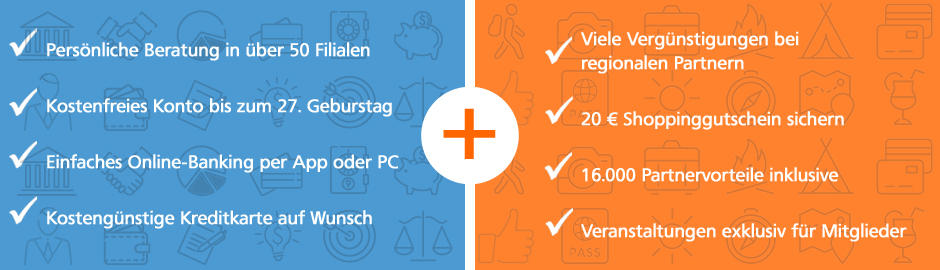 Vorteile von unserem VR-MeinKonto+