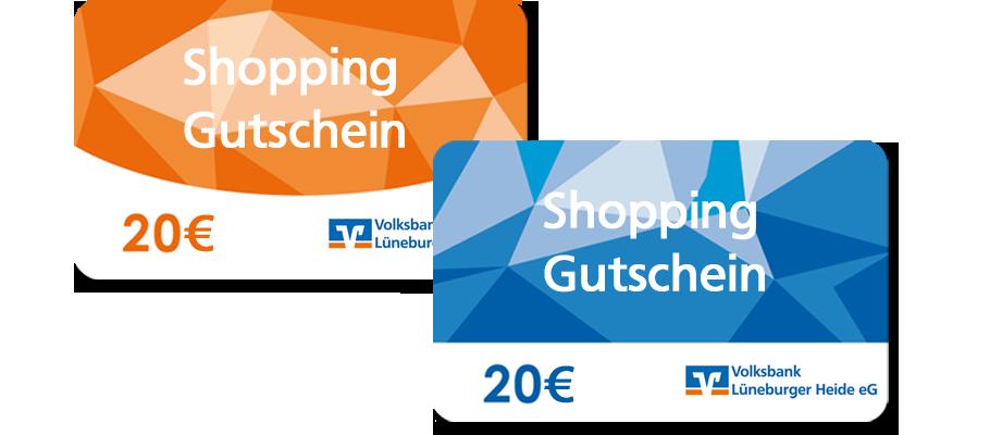 VR-MeinKonto+ Shoppinggutschein